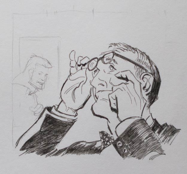 Copy of a Leonard Starr panel.
